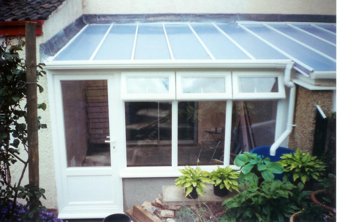 Ultralite 500 extended to neighbours conservatory