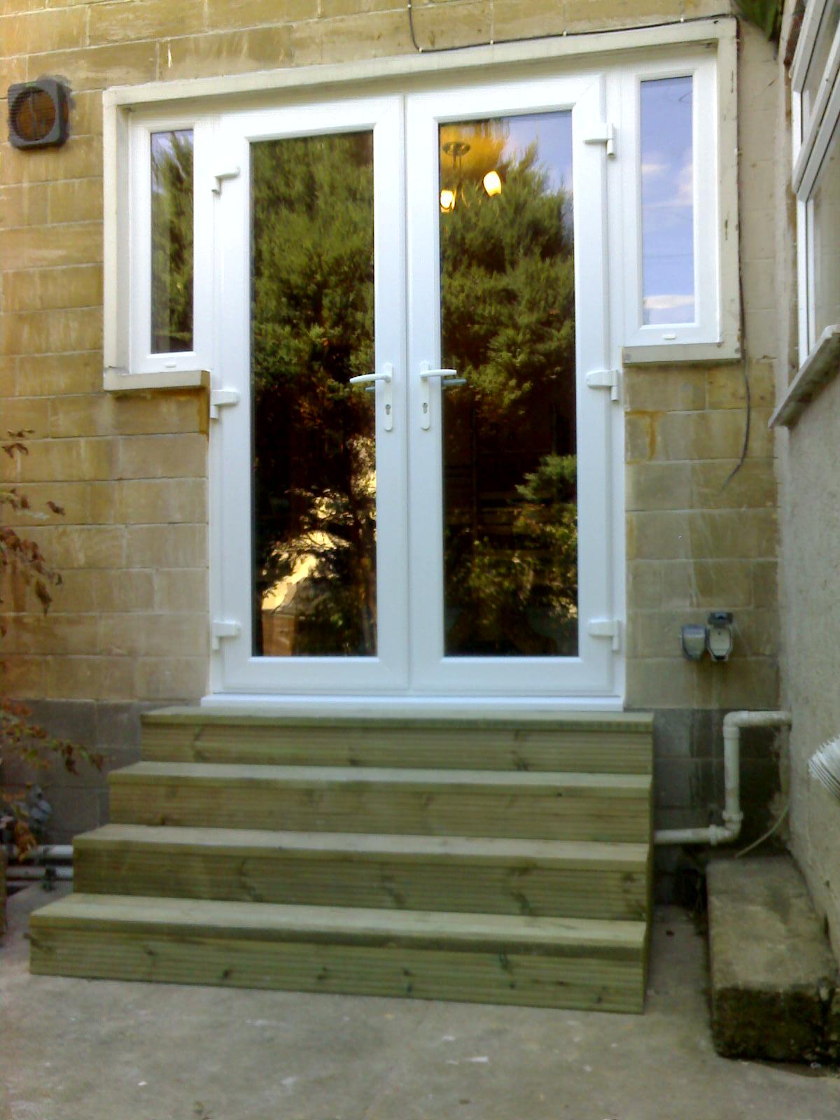 Knock-Through & Steps   £ 1700