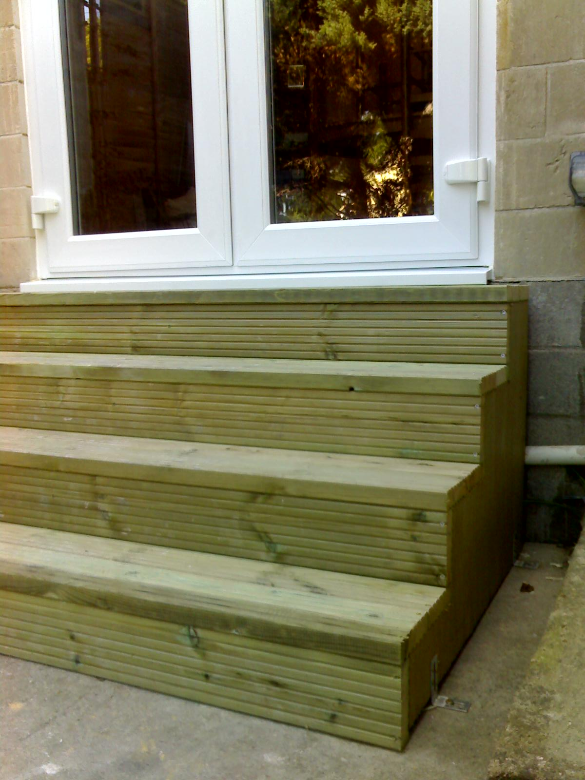 Deck Steps 3